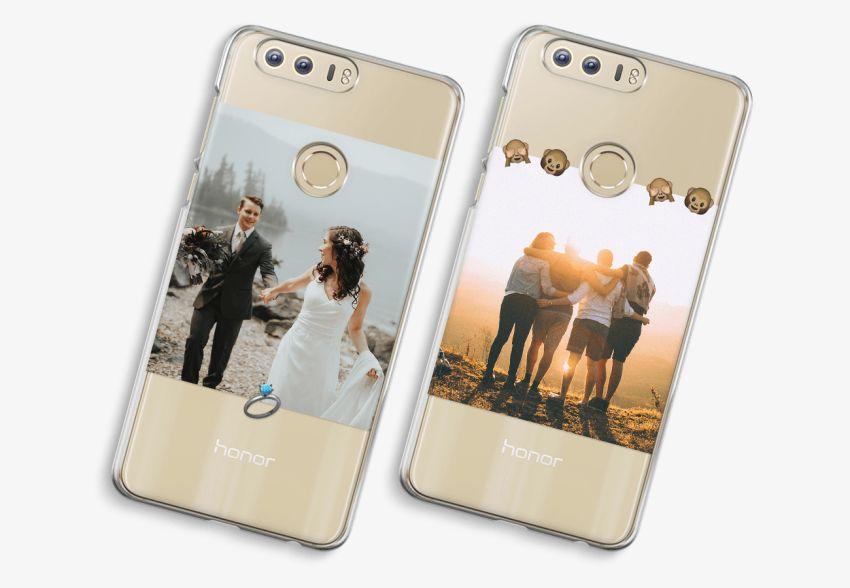 innovative design f1cce 19b9c Honor 8 Transparent Case