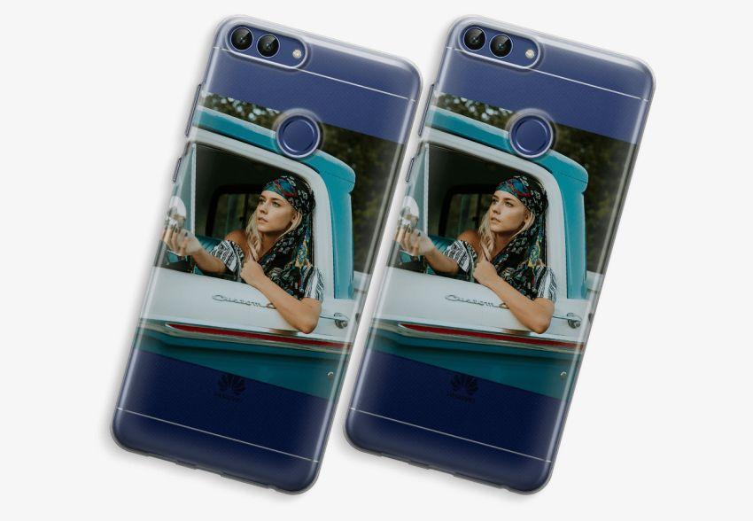 size 40 2d17d 28e4f Huawei P Smart (2018) Transparent Case