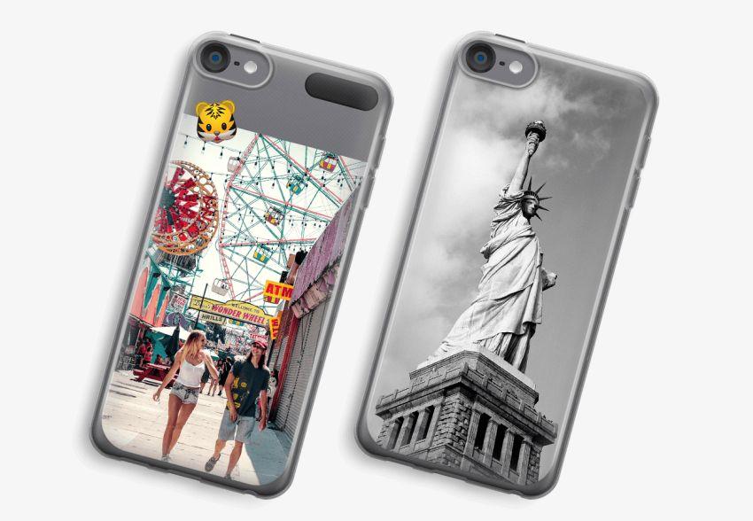 new concept ea78e 8d8c9 iPod Touch 6 Transparent Case