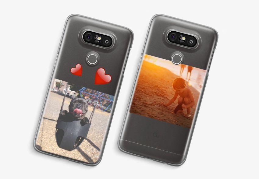 newest 50c68 49e66 LG G5 Transparent Case