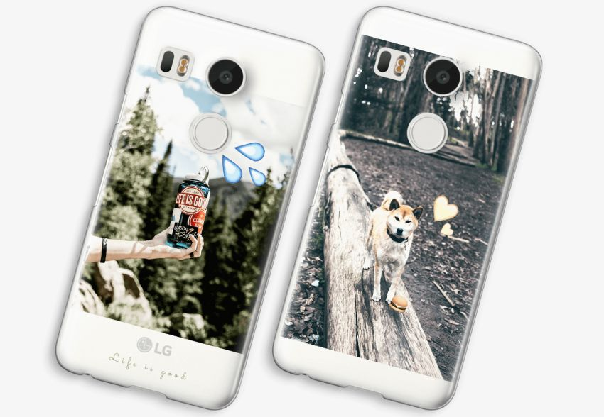 new product 53704 eaa23 LG Nexus 5X Transparent Case