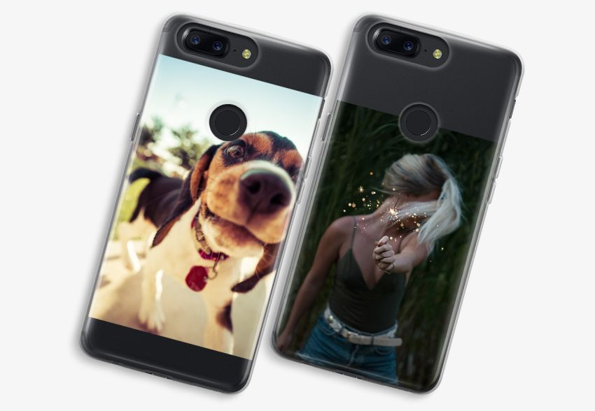 promo code bf751 7f24a OnePlus 5T Transparent Case