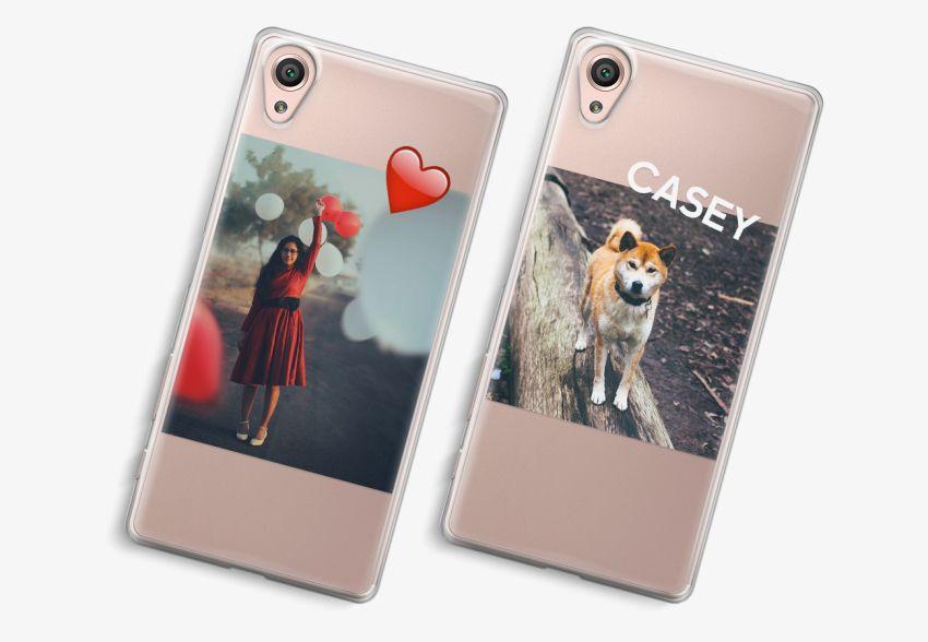 online store 40eb2 f00bd Sony Xperia XA Transparent Case
