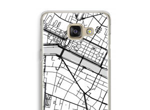 Put a city map on your Galaxy A5 (2016) case