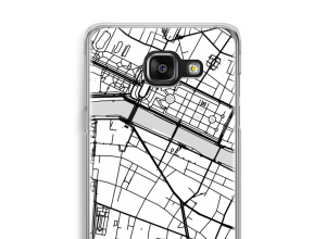 Put a city map on your Samsung Galaxy A5 (2016) case