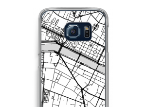 Put a city map on your Galaxy S6 Edge case