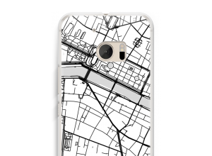 Put a city map on your HTC 10 case