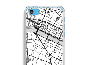 Put a city map on your iPhone 5c case