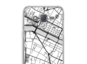 Put a city map on your Galaxy Grand Prime case