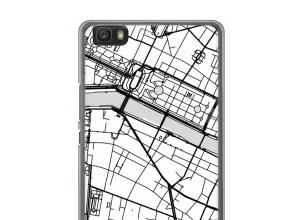 Put a city map on your Ascend P8 lite (2016) case
