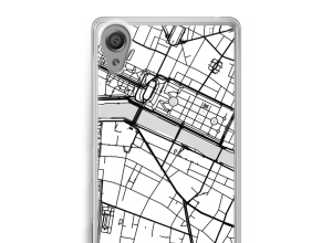 Put a city map on your Xperia XA case