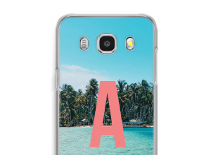 Make your own Galaxy J7 (2016) monogram case
