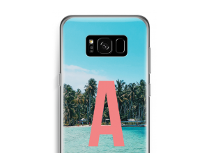 Make your own Galaxy S8 monogram case