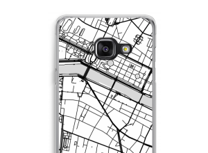 Put a city map on your Galaxy A3 (2017) case