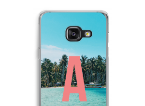 Make your own Galaxy A3 (2017) monogram case