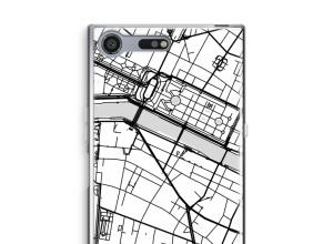 Put a city map on your Xperia XZ Premium case