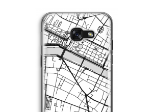 Put a city map on your Galaxy A5 (2017) case