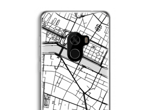 Put a city map on your Mi Mix 2 case