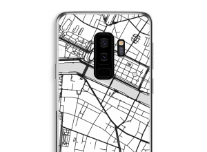 Put a city map on your Galaxy S9 Plus case