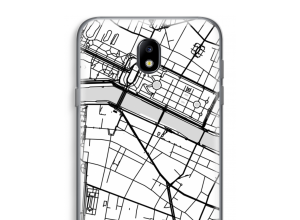 Put a city map on your Galaxy J7 (2017) case