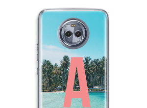 Make your own Moto X4 monogram case