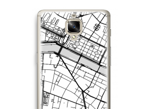 Put a city map on your OnePlus 3 case