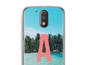 Make your own Moto G4 / G4 Plus monogram case