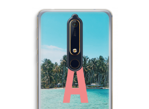 Make your own Nokia 6 (2018) monogram case