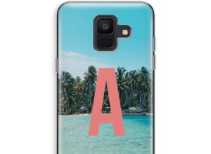 Make your own Galaxy A6 (2018) monogram case