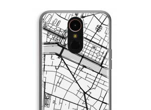 Put a city map on your K10 (2018) case