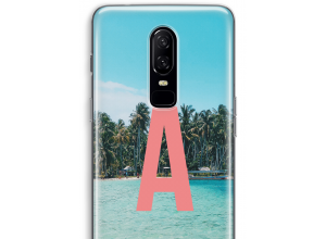 Make your own OnePlus 6 monogram case