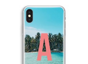 Make your own iPhone XS monogram case