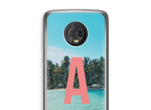 Make your own Moto G6 Plus monogram case