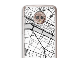 Put a city map on your Moto G6 case