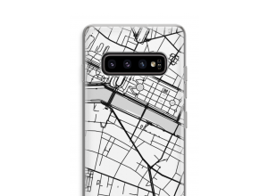 Put a city map on your Galaxy S10 Plus case