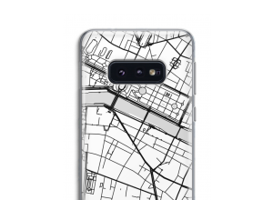 Put a city map on your Galaxy S10e case