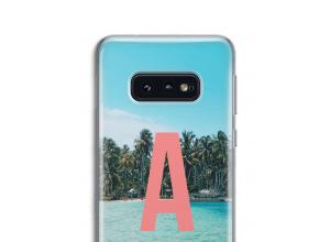 Make your own Galaxy S10e monogram case