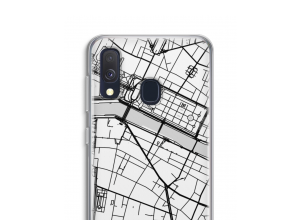 Put a city map on your Galaxy A40 case