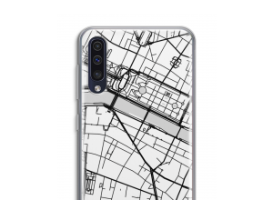 Put a city map on your Galaxy A50 case