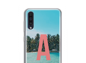 Make your own Galaxy A50 monogram case