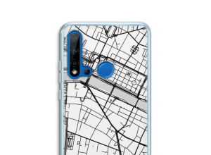 Put a city map on your P20 Lite (2019) case