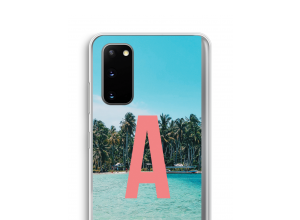 Make your own Galaxy S20 monogram case