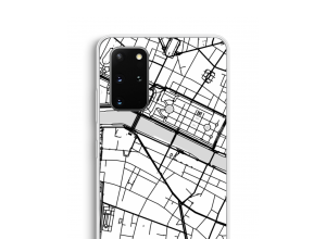 Put a city map on your Galaxy S20 Plus case