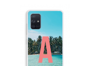 Make your own Galaxy A71 monogram case