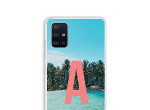 Make your own Galaxy A51 monogram case