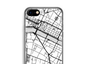 Put a city map on your iPhone SE 2020 case