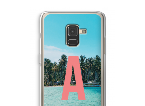 Make your own Galaxy A8 (2018) monogram case