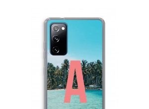Make your own Galaxy S20 FE / S20 FE 5G monogram case