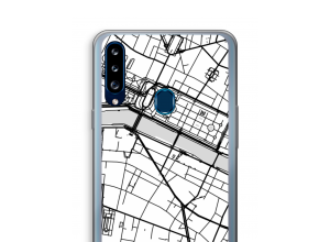 Put a city map on your Galaxy A20s case