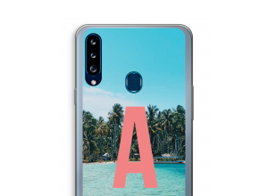 Make your own Galaxy A20s monogram case